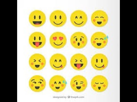 How to draw:10 cute smiley faces