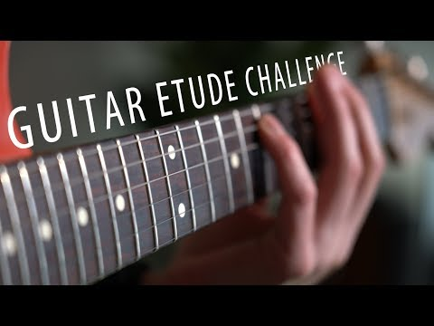 Guitar Etude Challenge | A very effective exercise
