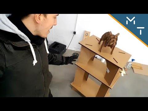 Making A Cardboard Table / Laser Cutter