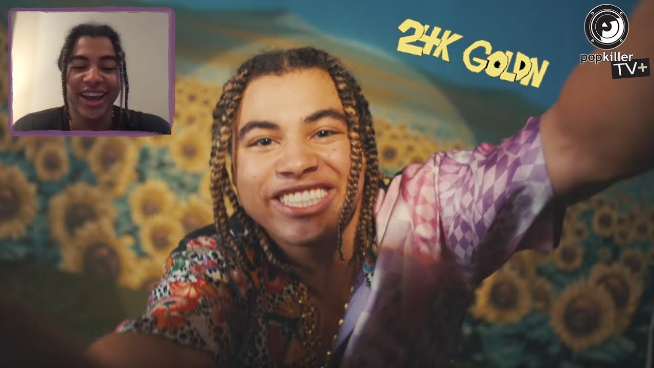 """24kGoldn on creating """"Mood"""" while playing Call Of Duty   sings it acapella with no autotune!"""