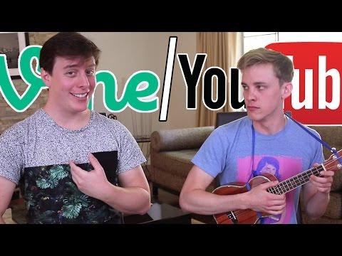 Vine vs YouTube: The Song (ft. Thomas Sanders)