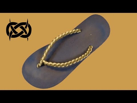 How to make Paracord Flip Flops