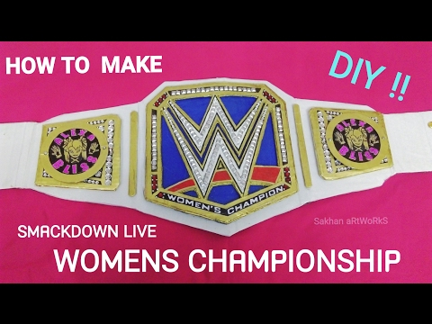 How To Make Wwe SmackDown Womens Championship