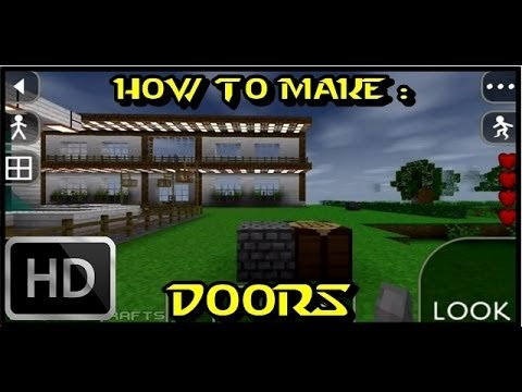 How to make Wooden Door, Iron Door and Cell Door in Survival Craft/ SurvivalCraft | NEW and UPDATED