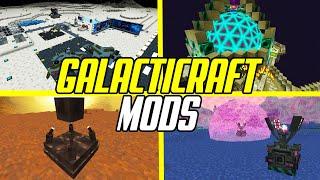 Top 10 Galacticraft Mods \u0026 Addons (Minecraft Space Mods)
