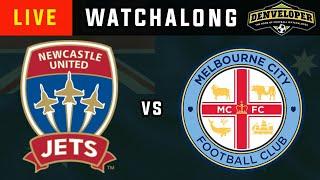 NEWCASTLE JETS vs MELBOURNE CITY - Live Football Watchalong Reaction - A-League 19/20