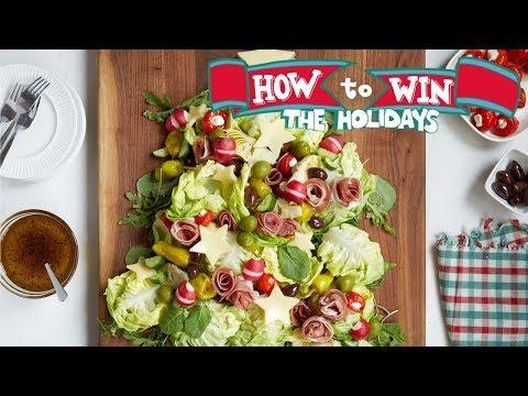 Christmas Tree Antipasto Salad | Food Network