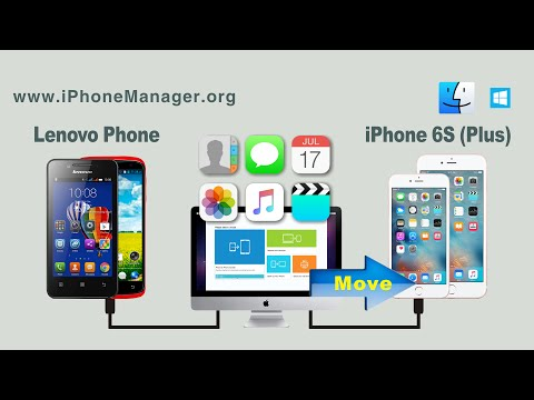 [Lenovo to iPhone 6S]: How to Move All Data from Lenovo Phone to iPhone 6S / 6S Plus on Mac