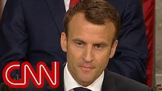 Macron warns US Congress: There