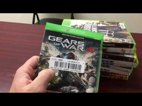 Half ton video game haul! When I sell on eBay vs Amazon!