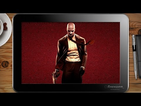 ИГРЫ НА WINDOWS ПЛАНШЕТЕ / Hitman: Blood Money / on tablet pc game playing test gameplay