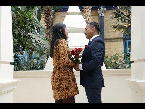 Super Sweet Burmese Proposal (Lay Phyu) in Alexandra Palace!