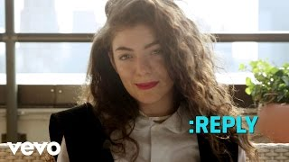 Lorde - ASK:REPLY 4 (VEVO LIFT)