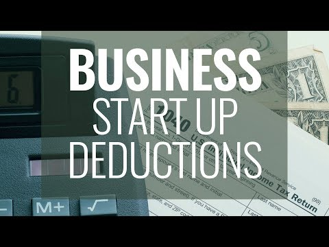 How Do I Deduct Business Start-up Costs
