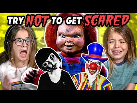Xxx Mp4 Kids React To Try Not To Get Scared Challenge 2 3gp Sex