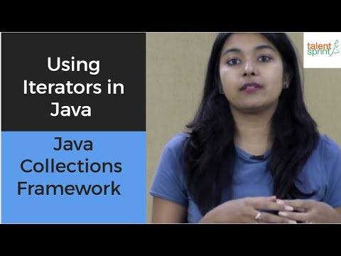 Using Iterators in Java | Java Collections Framework | TalentSprint