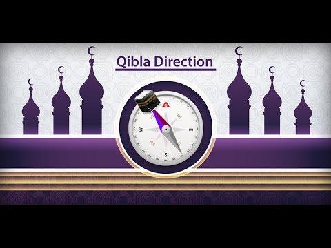 Qibla Direction Finder Prayer Times Azan Alarm App