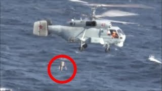 Training Of Crews Kamov Ka-27 Helicopters Searching For Submarines In The Barents Sea