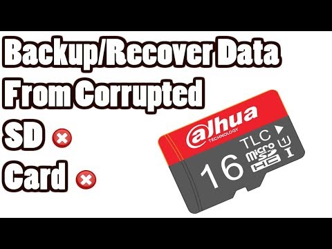How to Backup/Recover Data from Corrupted SD Card or USB Flash