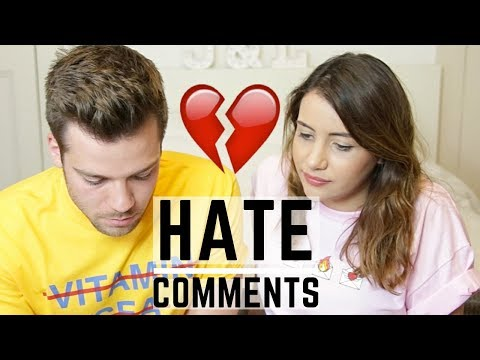 READING MEAN COMMENTS! | shut up. go away.