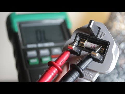 How To Test A Fuse With A Multimeter (Voltmeter | Ohmmeter) For Beginners | Continuity Test