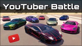 The Ultimate YouTuber Dragrace | Forza Horizon 3 | ft. KSI, Salomondrin, Tanner Fox & more!!