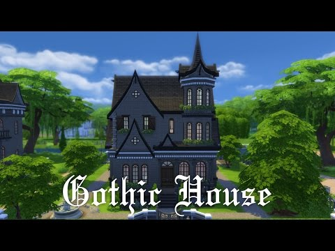 The Sims 4 House Building - Gothic House