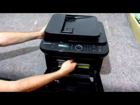 How to change Toner Cartridge (Samsung SCX-4623F)