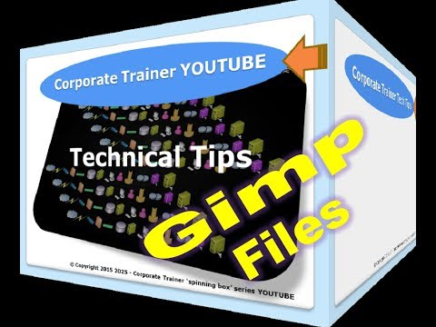 HOW TO GIMP File to JPG or PNG | YouTube 2015-2016 | Saving GIMP 2.8 (NEW)