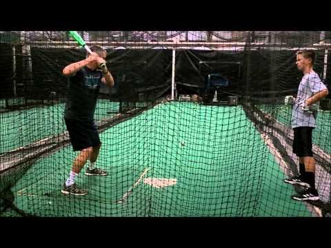 Patrick McGlon - Batting Practice 08/07/15