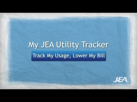 My JEA Utility Tracker