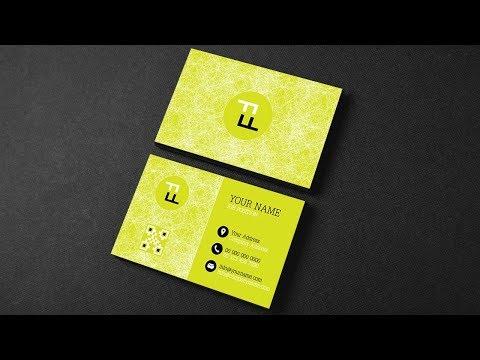 Illustrator Tutorial - Business Card Template