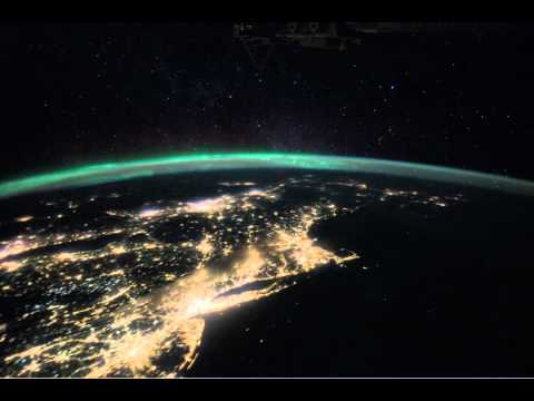 Space Station View - East Coast of North America