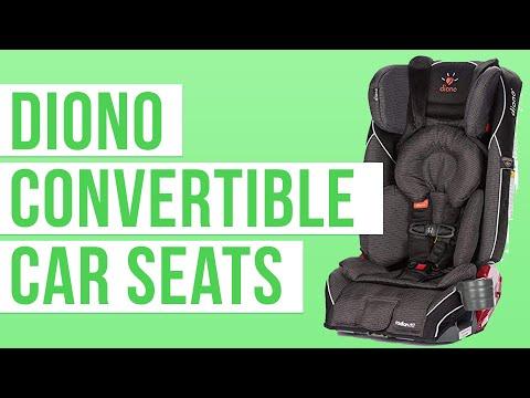 Diono Convertible Car Seats 2018 | Radian RXT, Radian R100, Rainier