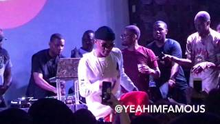 "WizKid Live in NYC at SOBs "" Sounds From The Other Side "" Pop Up Concert"