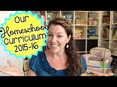 OUR HOMESCHOOL CURRICULUM FOR 2015-2016! Come see all the fun curriculum we're using!