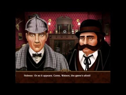 The Lost Cases of Sherlock Holmes PC 2008 Gameplay