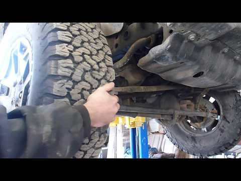 Steering Stop Adjustment to Fit Larger Tires on a Jeep Wrangler