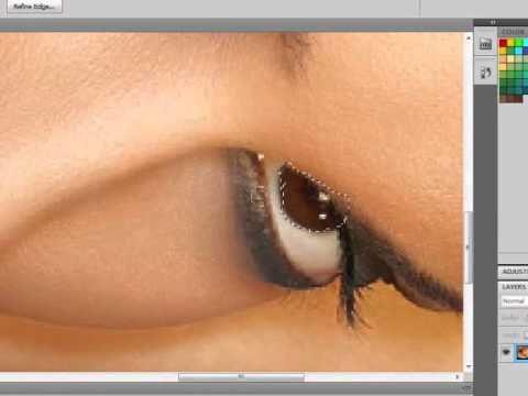 Change color of eye in photoshop cs5