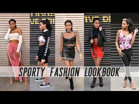 IT'S SPRING IN FEBRUARY? SPORTY FASHION LOOKBOOK