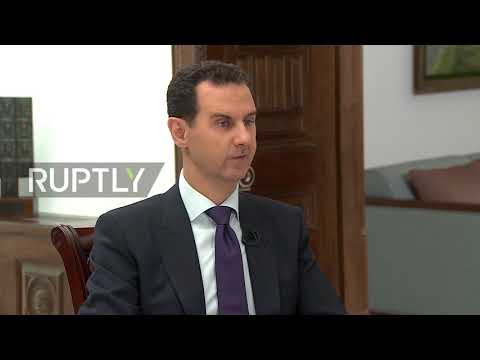 Syria: 'We are moving towards end of conflict' - Assad *EXCLUSIVE*
