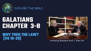 Galatians Ch. 3(b) 15-29   Why Then the Law?  Anthony Buzzard & J. Dan Gill