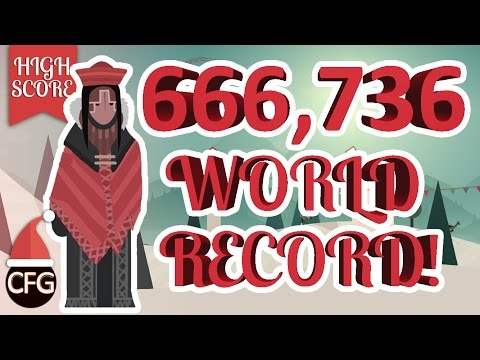 Alto's Adventure | 660,736 HIGHEST HIGH SCORE! - THE WORLD RECORD! | UNLIMITED WINGSUIT CHEAT/TRICK!
