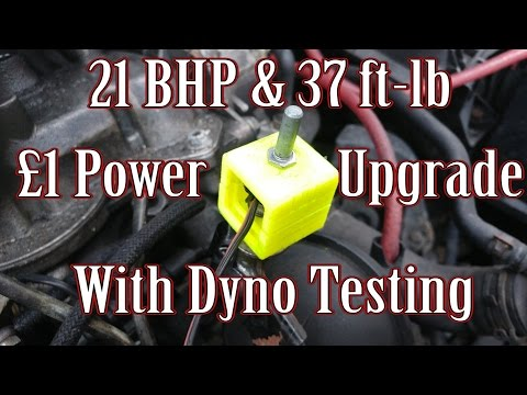 Budget Diesel Tuning - How to add power for £1 with dyno test