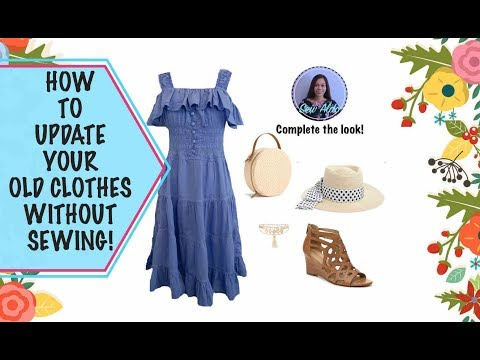 HOW TO DYE A FABRIC   HOW TO GIVE YOUR OLD CLOTHES A FRESH LOOK AGAIN BY DYEING IT!   SEW ALDO
