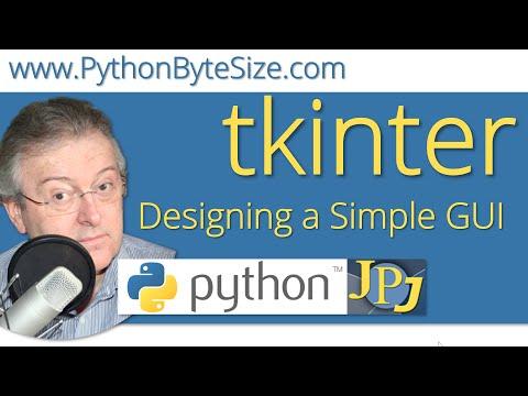 Designing a Simple tkinter GUI
