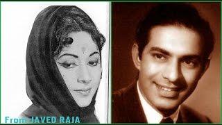 TALAT MAHMOOD & GEETA-Film-SANGAM-1954-Mil Jayein Tum Se Aake Sahara Nahin Koi-[ HQ Audio ]