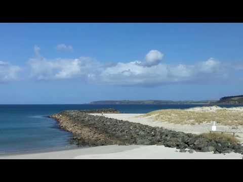 Omaha Beach in Auckland, New Zealand