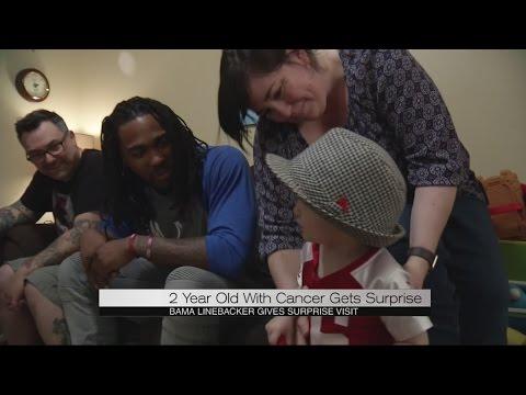 Alabama Fan battling cancer gets special surprise