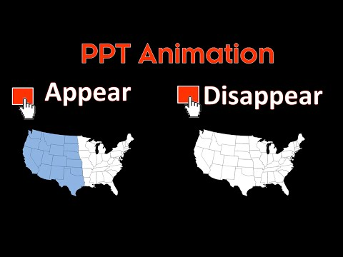 PowerPoint Animations: Making Objects Appear and Disappear On-Click